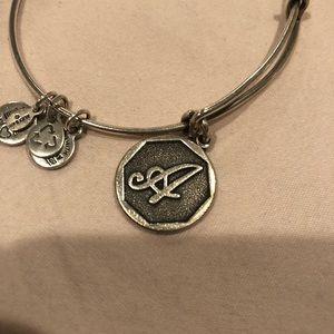 """Letter """"A"""" Alex and ani bracelet"""